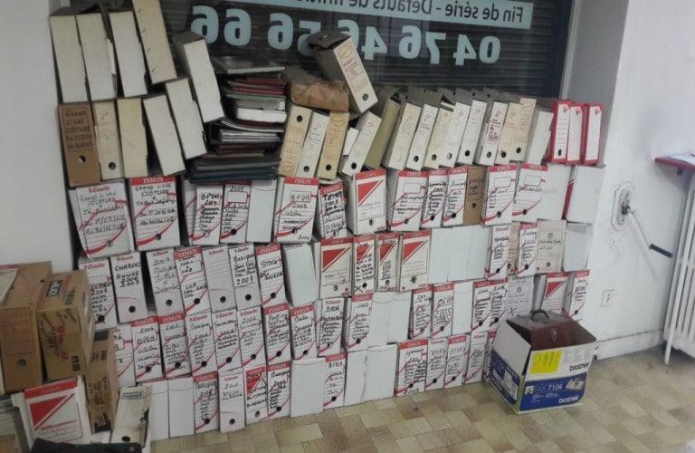 Destruction d'archives à Genève et dans tous les cantons de Suisse